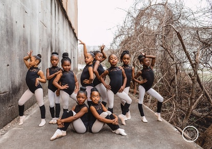The young ballerinas are inspired by Misty Copeland, the first African American principal dancer at ...