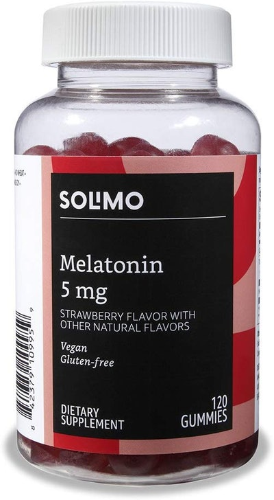 Solimo 5 mg Melatonin (120 gummies)