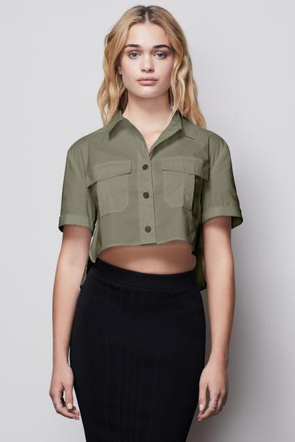 The Crop Shirt