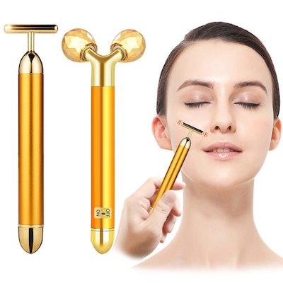 Golden Pulse Face Massager by DANGSHAN