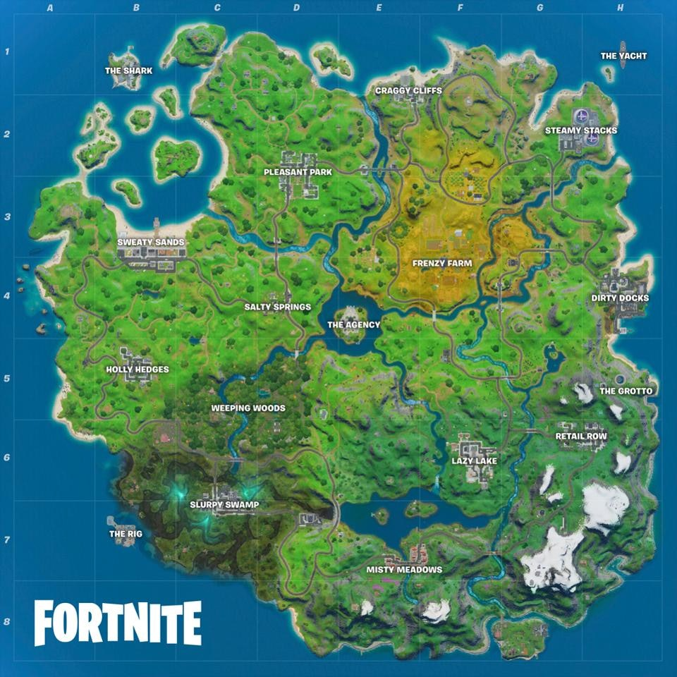 'Fortnite' Chapter 2, Season 2 map changes: All 5 new ...