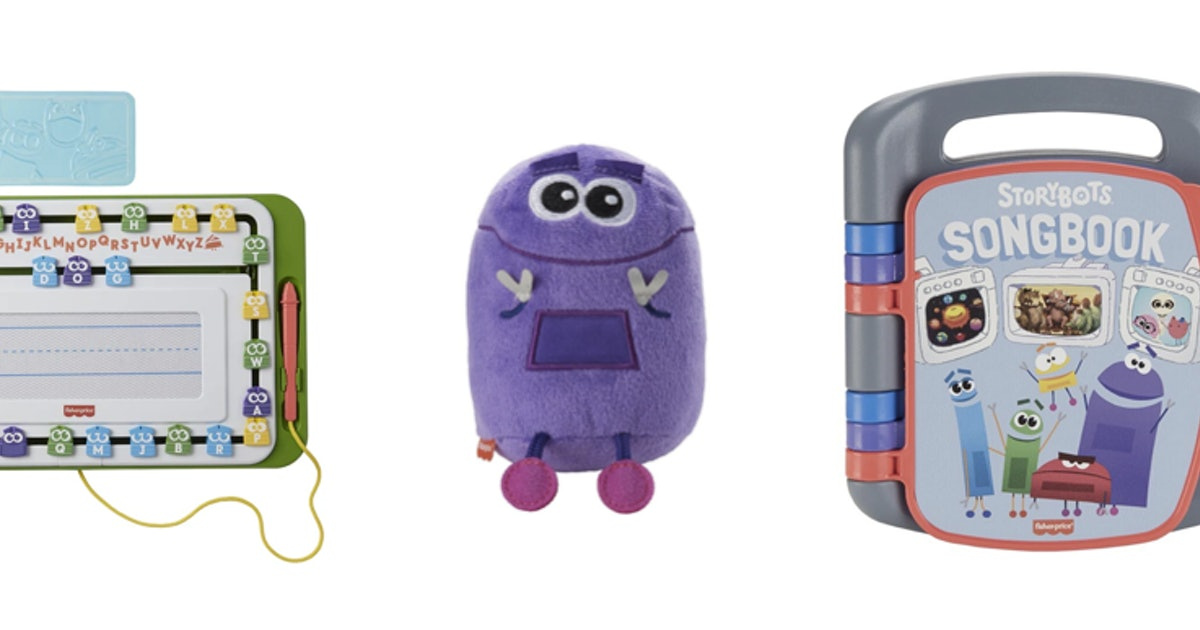 """These 'Storybots' Toys Are Helping Kids Get """"Super Smart"""" — FIRST LOOK"""
