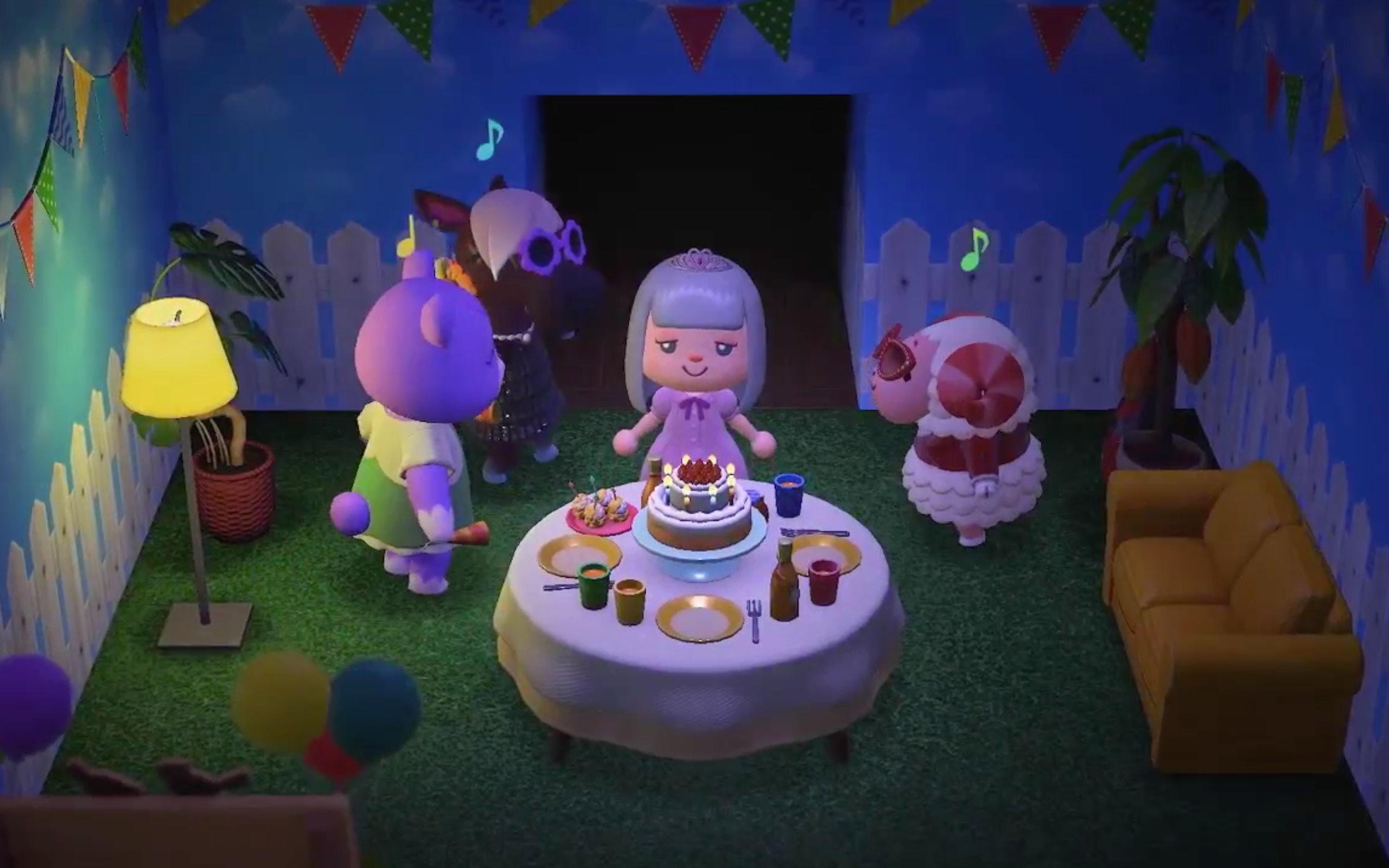 Animal Crossing New Horizons Nintendo Direct Details Multiplayer
