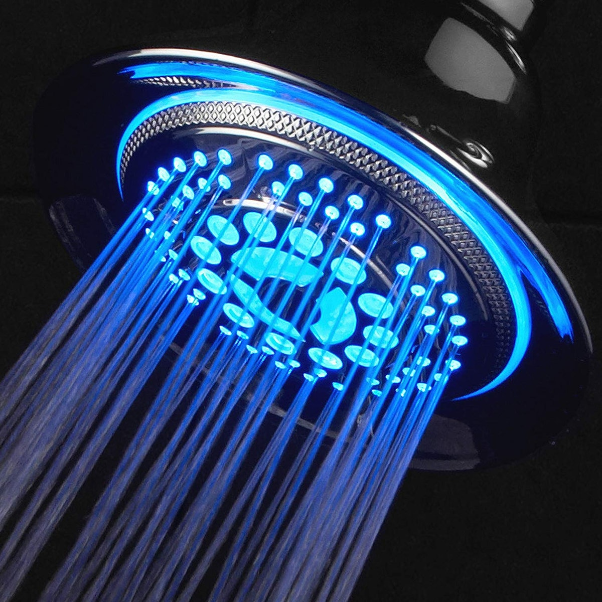 DreamSpa Color Changing 5-Setting LED Shower-Head