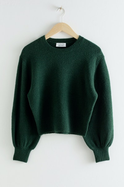 & Other Stories Cropped Sweater