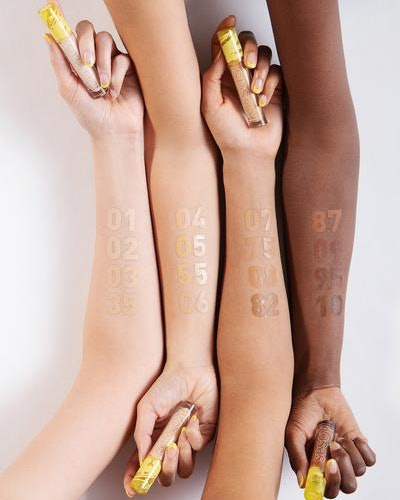All shades of Kosas' new Revealer Concealer swatched.