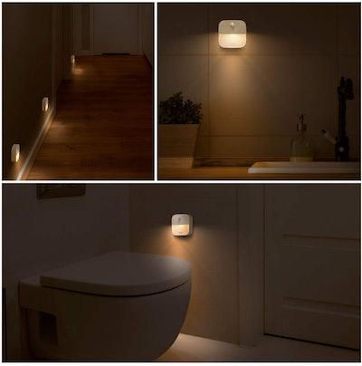 eufy Lumi Stick-On Motion Sensor Night Lights (3-Pack)