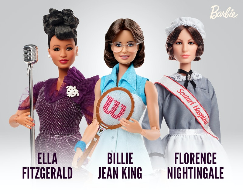 Mattel just added three new Barbies to their Inspiring Women collection.
