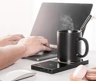 NeotrixQI Coffee Mug Warmer and Wireless Charging Stand
