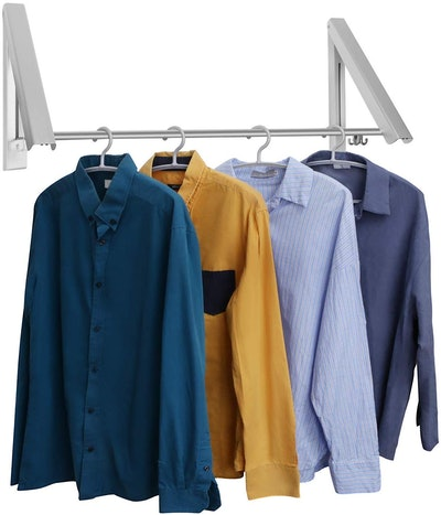 LECDDL Retractable Clothes Racks