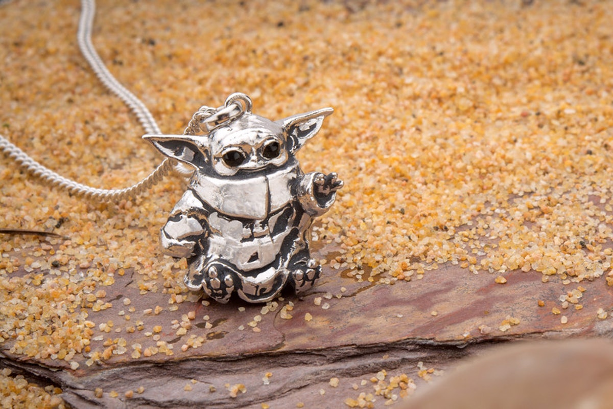 Star Wars x RockLove The Child Necklace