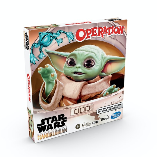 Baby Yoda Operation game