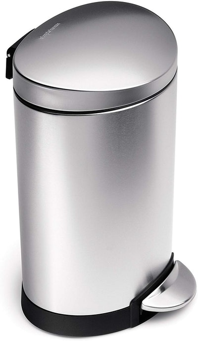 simplehuman Brushed Stainless Steel Trash Can