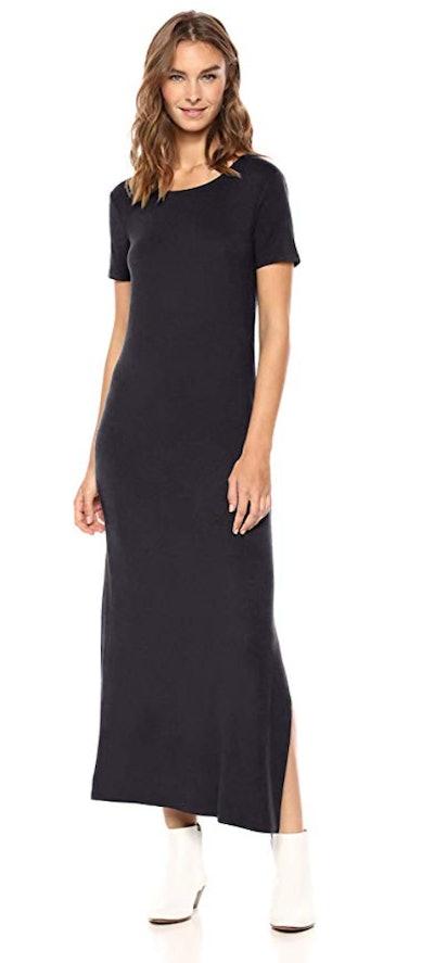 Daily Ritual Women's Jersey Crewneck Maxi Dress