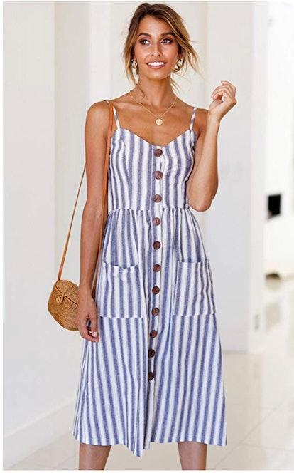Angashion Women's Midi Dress
