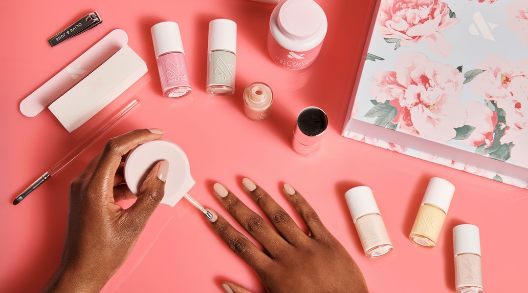 Olive & June's new spring 2020 nail polish collection features six pastel hues