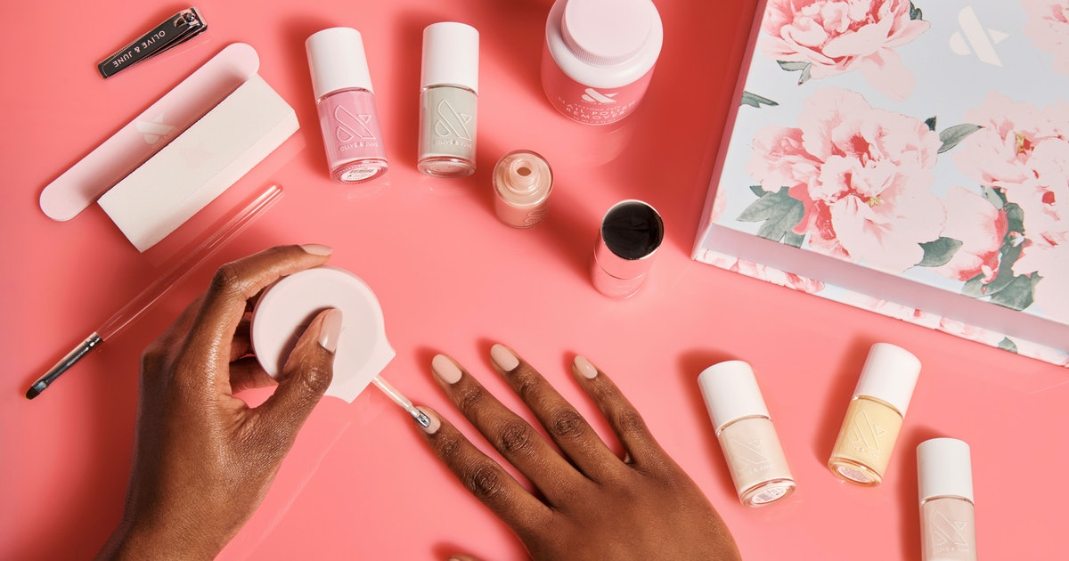 Olive & June Just Dropped 6 New Nail Polish Shades Inspired By A Spring Bouquet
