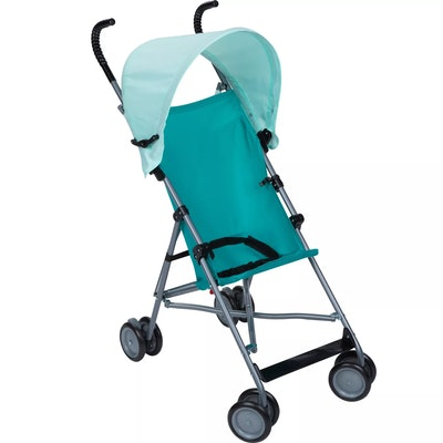 Cosco Umbrella Stroller with Canopy in Teal