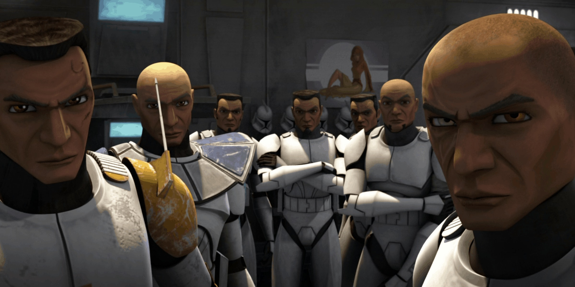 Clone Wars Season 7 Spoilers The One Bad Batch Member Worth Caring About