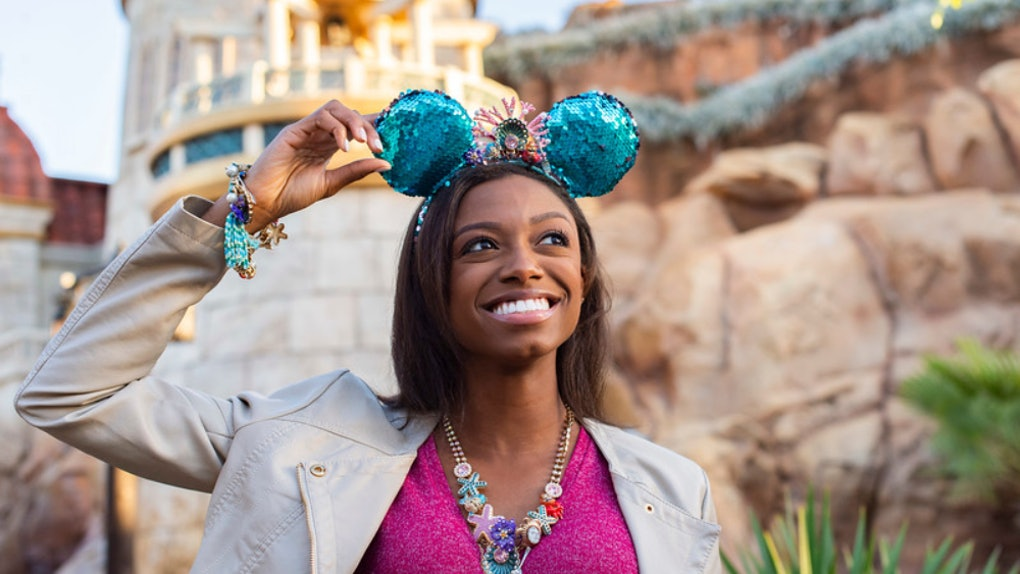 Here's where to get Disney's 'Little Mermaid' Minnie ears from its Betsey Johnson collab.