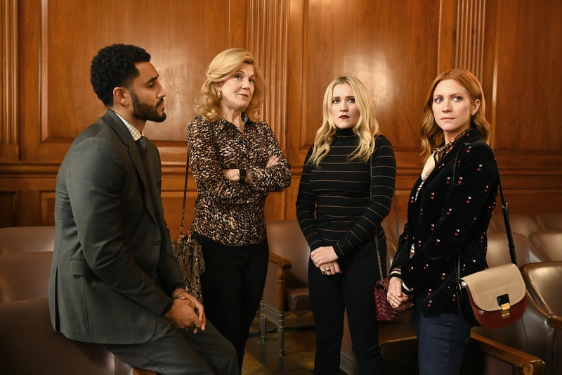 Mustafa Elzein, Victoria Clark, Emily Osment and Brittany Snow on Almost Family