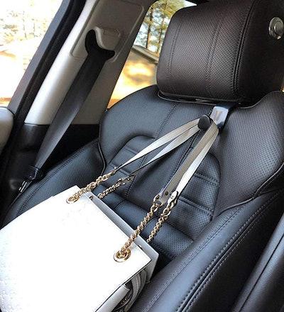 EldHus Vehicle Headrest Hook Hanger (4-Pack)