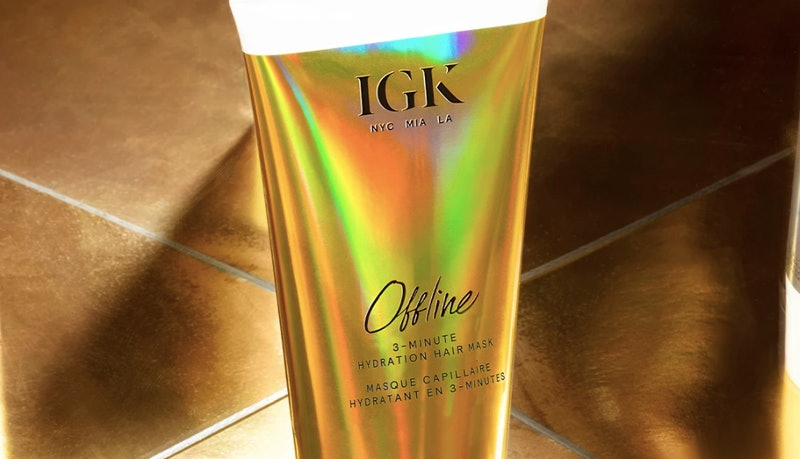 February 2020's haircare product launches include IGK's new Offline 3-Minute Hydration Hair Mask