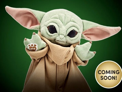 Build-A-Bear Baby Yoda is coming soon.