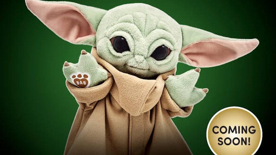 Build-A-Bear Baby Yoda is coming soon.