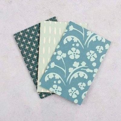 Assorted Pocket Notebooks - Set of 3