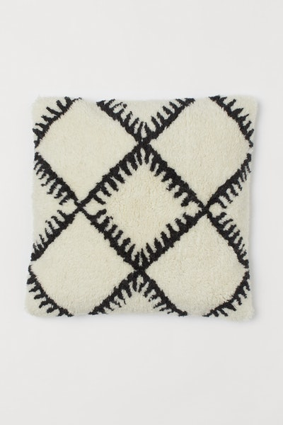 Wool-blend cushion cover