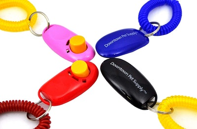 Downtown Pet Supply Training Clicker (4-Pack)
