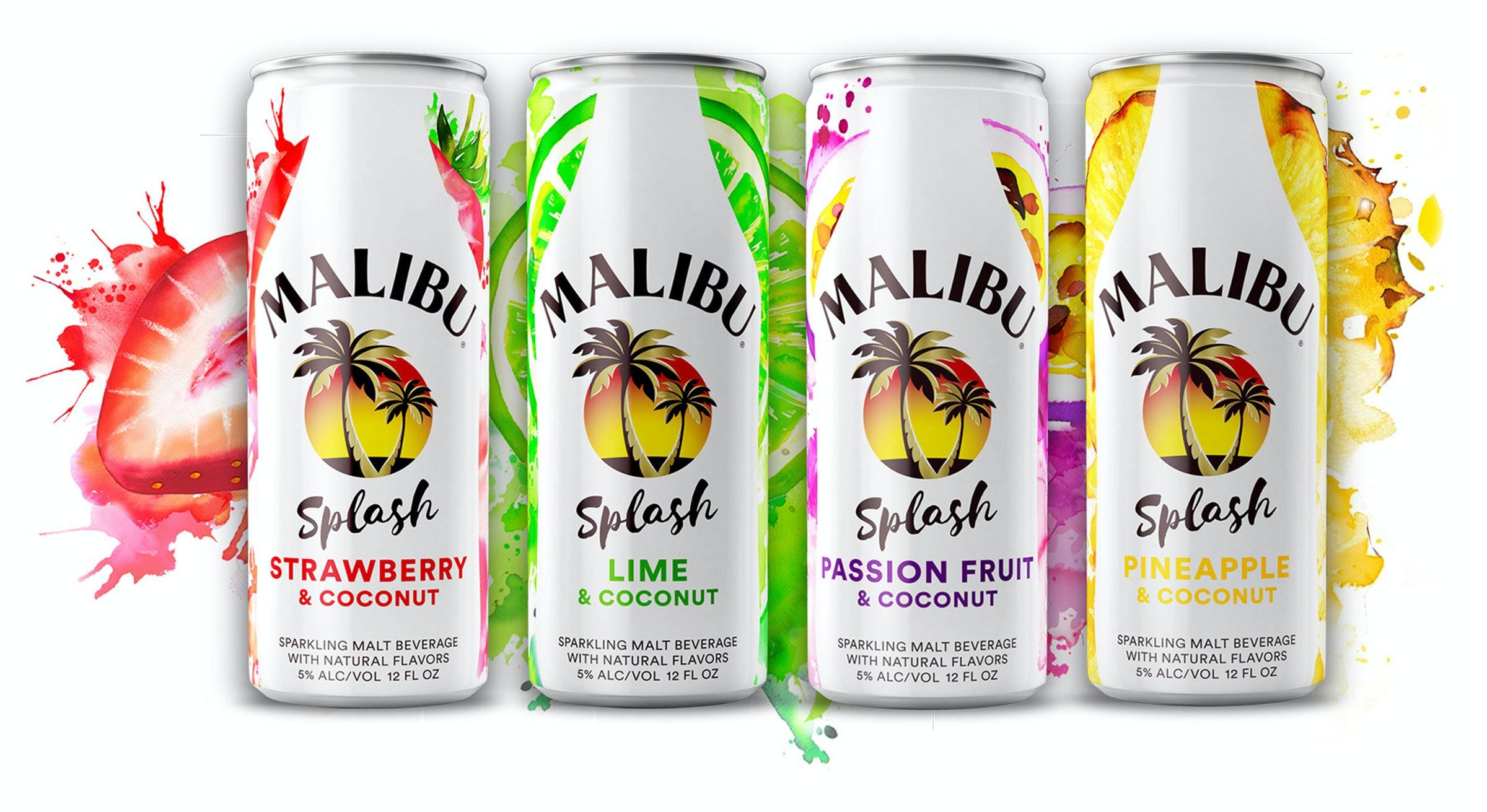 Malibu Splash Canned Cocktails