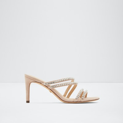 Strappy Mule With Stones