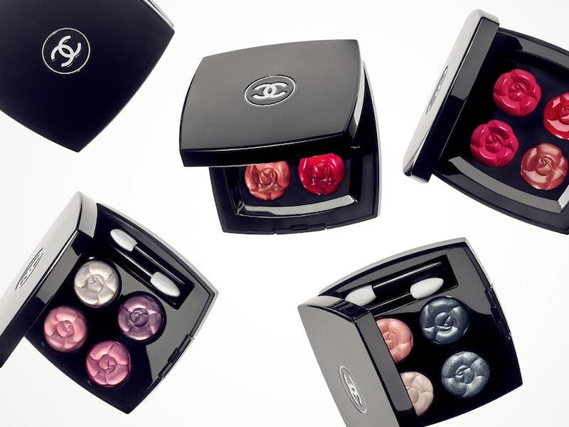 Chanel's new La Fleur et L'Eau makeup collection is centered around spring colors