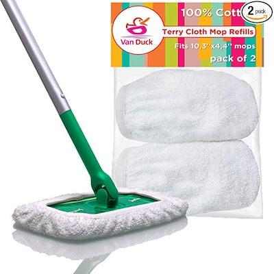VanDuck Reusable Mop Pads (2 pack)