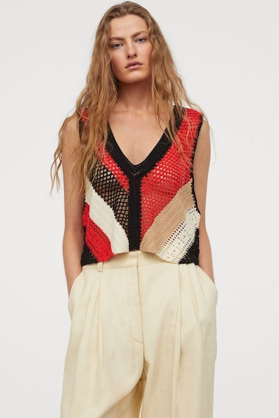 H&M Crocheted Top