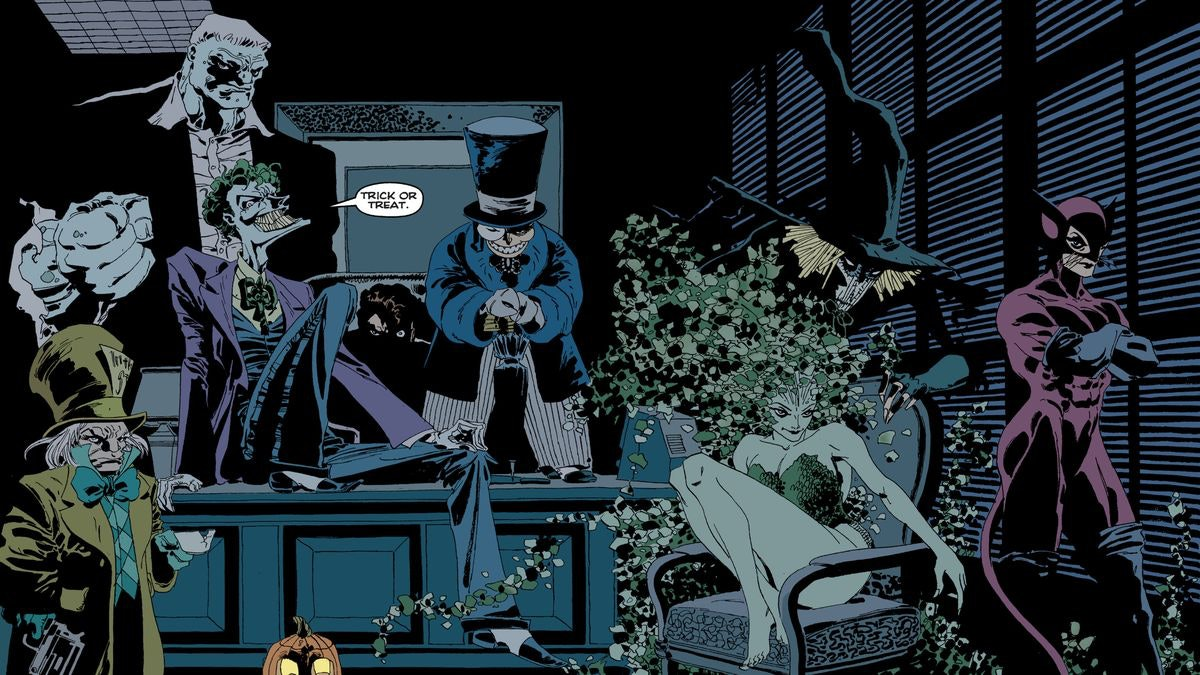 Halloween 2020 Comic Adaptation The Batman' movie set photos reveal an iconic comic book storyline