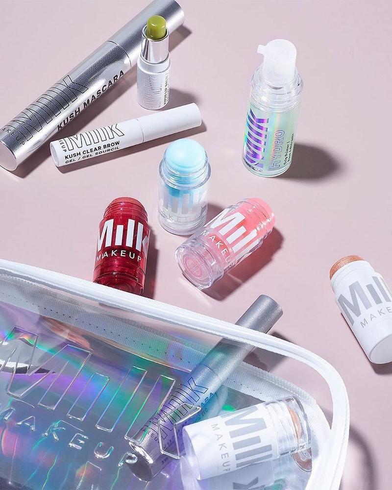 Milk Makeup's new KUSH Lip Scrub comes in a convenient twist tube