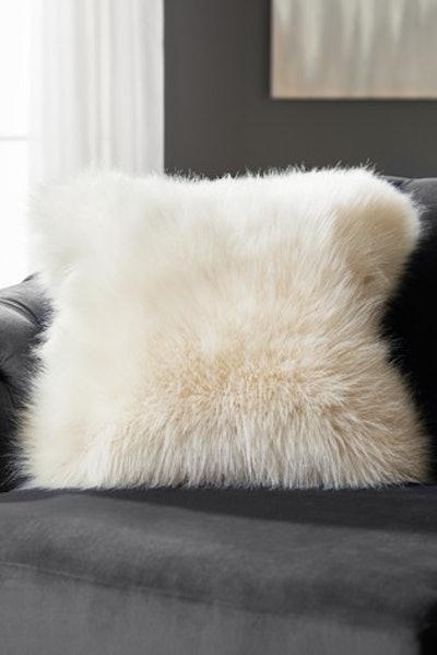 Arctic Cosy Faux Fur Cushion