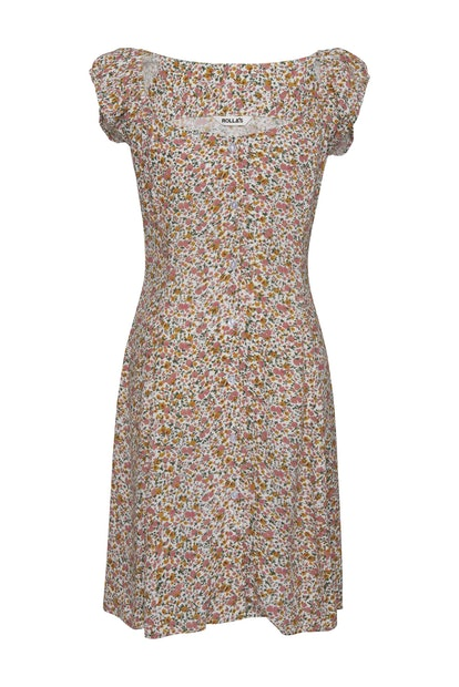 Erin Coast Floral Dress White