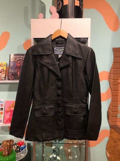 Vintage 90s Faux Leather Jacket