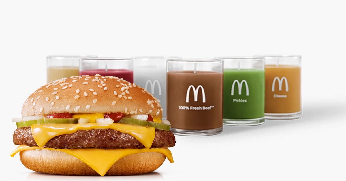 Who asked for these Quarter Pounder candles?