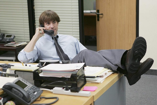 """John Krasinski's quote about a """"The Office"""" reunion sounds like great news is coming."""