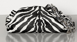 Chain Pouch in Zebra