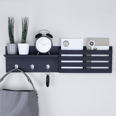 Ballucci Mail Holder Wall Shelf