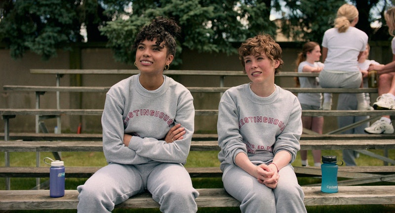 Sofia Bryant and Sophia Lillis in 'I Am Not Okay With This'