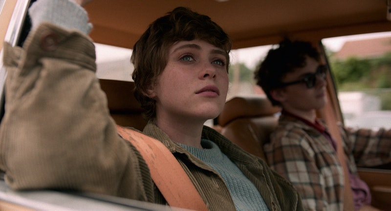 Sophia Lillis and Wyatt Oleff as Syd and Stan in 'I Am Not Okay with This'