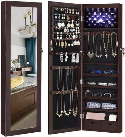 SONGMICS Jewelry Cabinet