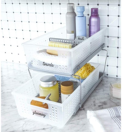 madesmart 2-Tier Organizer with Dividers